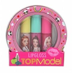 TOPModel Mini Lipgloss Sæt, Pink