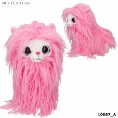 Snukis Plys 21 cm, Polly the Alpaca pink