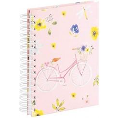 Rössler notesbog, A5, Flower Ride