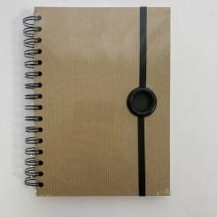 Rössler notesbog, A5, Nature Schwarz