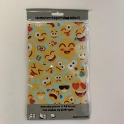 Strækbart bogomslag, A4, emojis