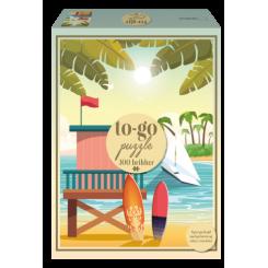 To-Go puzzle stranden, 300 brikker