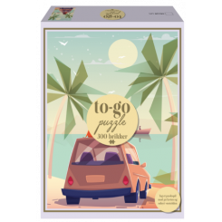 To-Go puzzle car, 300 brikker