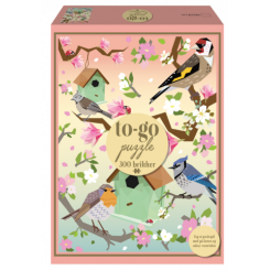 To-Go puzzle Birds, 300 brikker