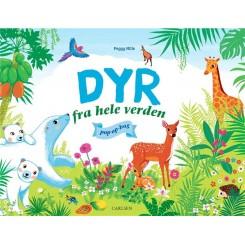 Dyr fra hele verden - pop op bog