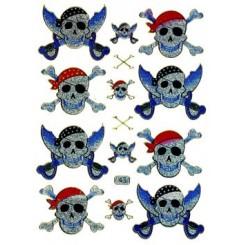 Klistermærker, pirater