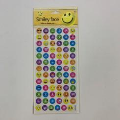 Smiley klistermærker, farver