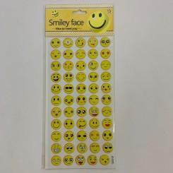 Smiley klistermærker, 4