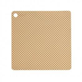 OYOY Dækkeservietter 2 stk., Checker - Vanilla