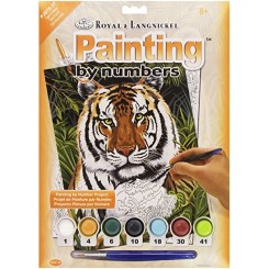 Royal & Langnickel Painting by numbers, Tiger