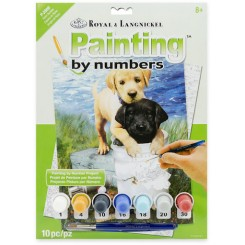 Royal & Langnickel Painting by numbers, Hunde