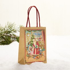 Gavepose med hank, Pobra julemand, mellem