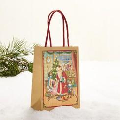 Gavepose med hank, Pobra julemand, stor