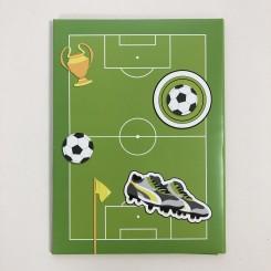 Rössler brevpapir, Fodbold, A4