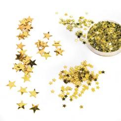 Guld stjerner, holografi, 20gr. - 6 ASS.