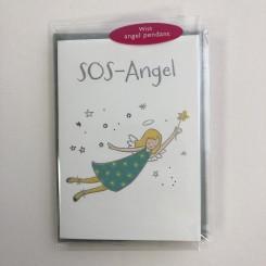 Englekort med vedhæng, SOS angel