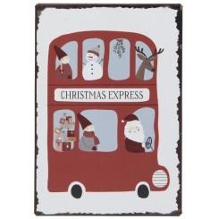 Metalskilt Christmas Express