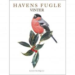 HAVENS FUGLE VINTER - 8 forskellige dobbeltkort