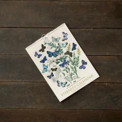 Koustrup evighedskalender, blomster og digte