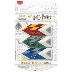 Maped Viskelæder, Harry Potter, 3 stk.