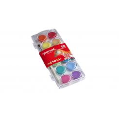 Penol vandfarve, metallic, 12 farver