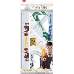 Maped Liniealsæt, Harry Potter, 4 stk.