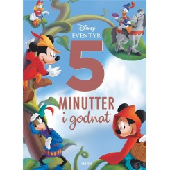 Fem minutter i godnat - Disney eventyr