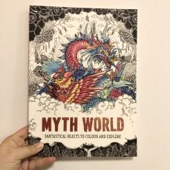 Malebog Myth World: Fantastical beasts to colour and explore