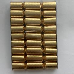 Knallerter 9 stk., guld