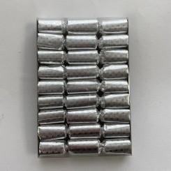 Knallerter 9 stk., sølv