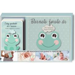 24 babykort og mindebog for barnets første år
