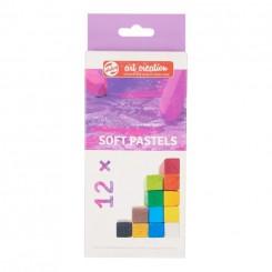Art Creation Soft Pastels, 12 stk.