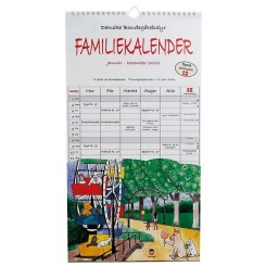 Familie Studiekalender DYR 5-pers. 2022