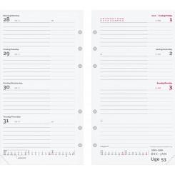 Refill: Ugekalender System International, 2022