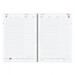 System A5 dagkalender, REFILL, FSC Mix, 2022