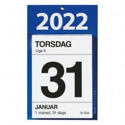 Kontorafrivningskalender 12x16 cm, 2022