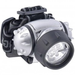 LED pandelampe GRUNDIG, 7 LED, sølv