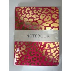 Notesbog Gold - Leopard A6
