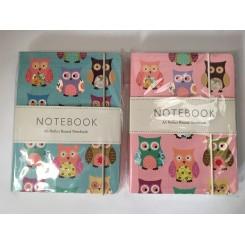 Notesbog ugle A6