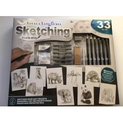 Royal & Langnickel sketching made easy sæt