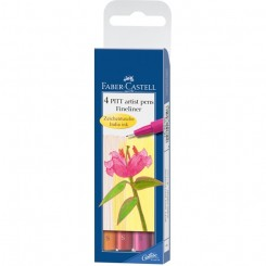 Faber Castell PITT fineliner, warm colours
