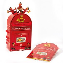 3D Julekalender, saml-selv, postkasse