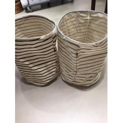 Opbevaringspose striber, stor