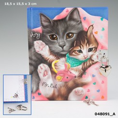 TOPModel Dagbog, Katte