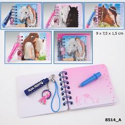 Miss Melody Mini Notesblok m/pen