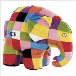 Elmer tøjelefant, stor