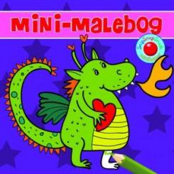 Minibog - Malebog m. drage