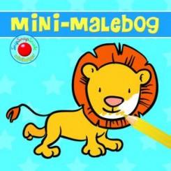 Minibog - Malebog m. løve