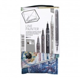 Derwent Graphik Line Painter 04