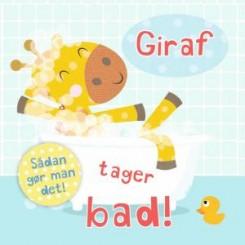 Sådan gør man det - Giraf tager bad!